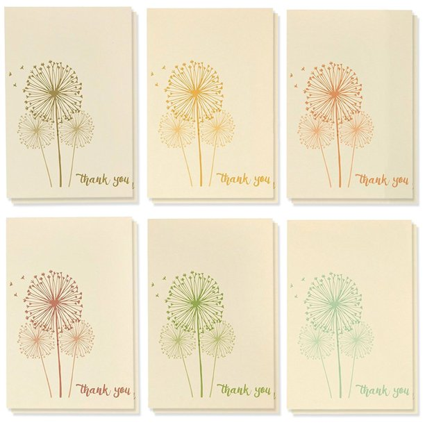 48count thank you cards with envelopes blank thank you
