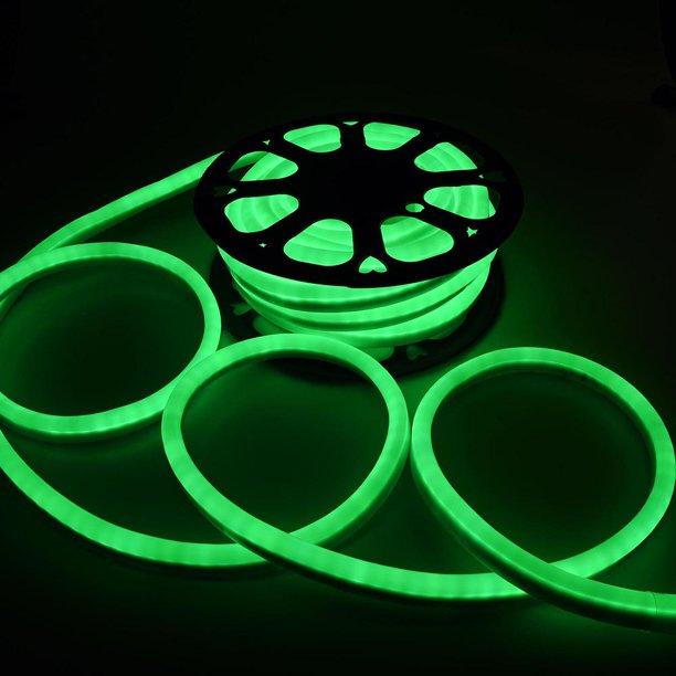 110v Green Flexible Led Neon Rope Light