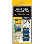 Grand Teton National Park Adventure Set : Map & Naturalist Guide