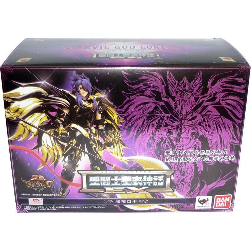 Bandai Saint Seiya Cloth Myth EX Evil God Loki Soul of Gold Action Figure by Bandai