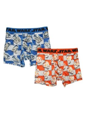 lucas Bb-8 Boys 2pk Boxer Brief 4