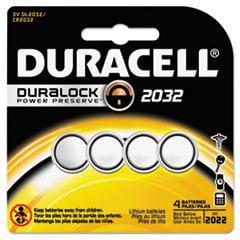 2032 Duracell Duralock Cr2032 Lithium Batteries 4 Pack Walmartcom