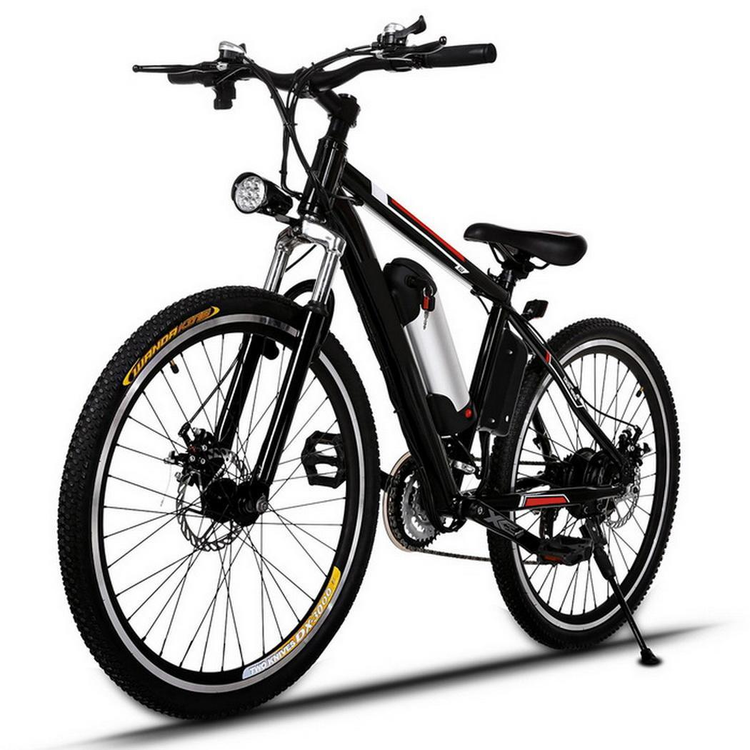 "Kinbay Power Plus 25""Electric Bike Mountain Bicycle with Removable Lithium-Ion Battery, Battery Charger"