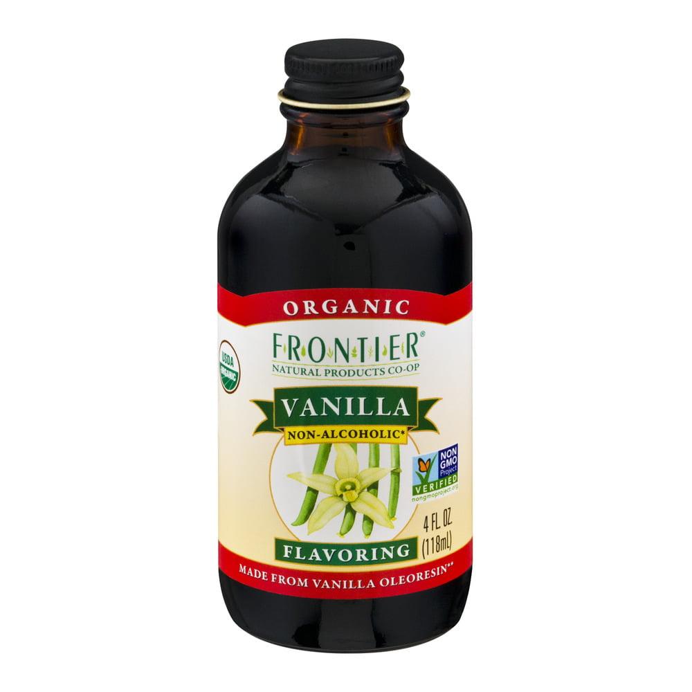 Frontier Organic Vanilla Flavoring, 4.0 FL OZ