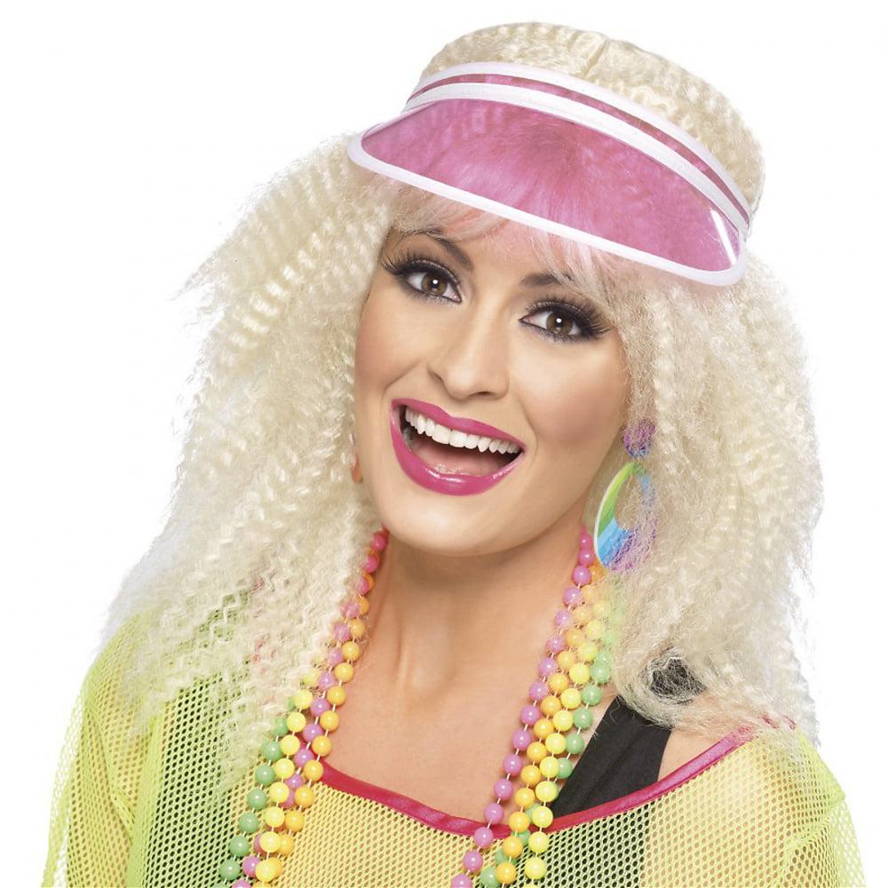 Poker Visor Pink Adult Costume Accessory