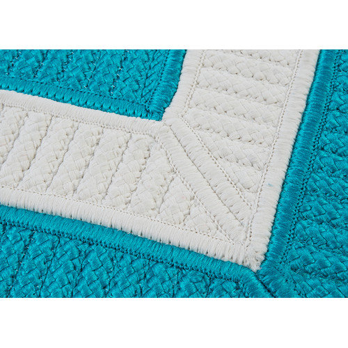 Colonial Mills Rope Walk Turquoise Area Rug