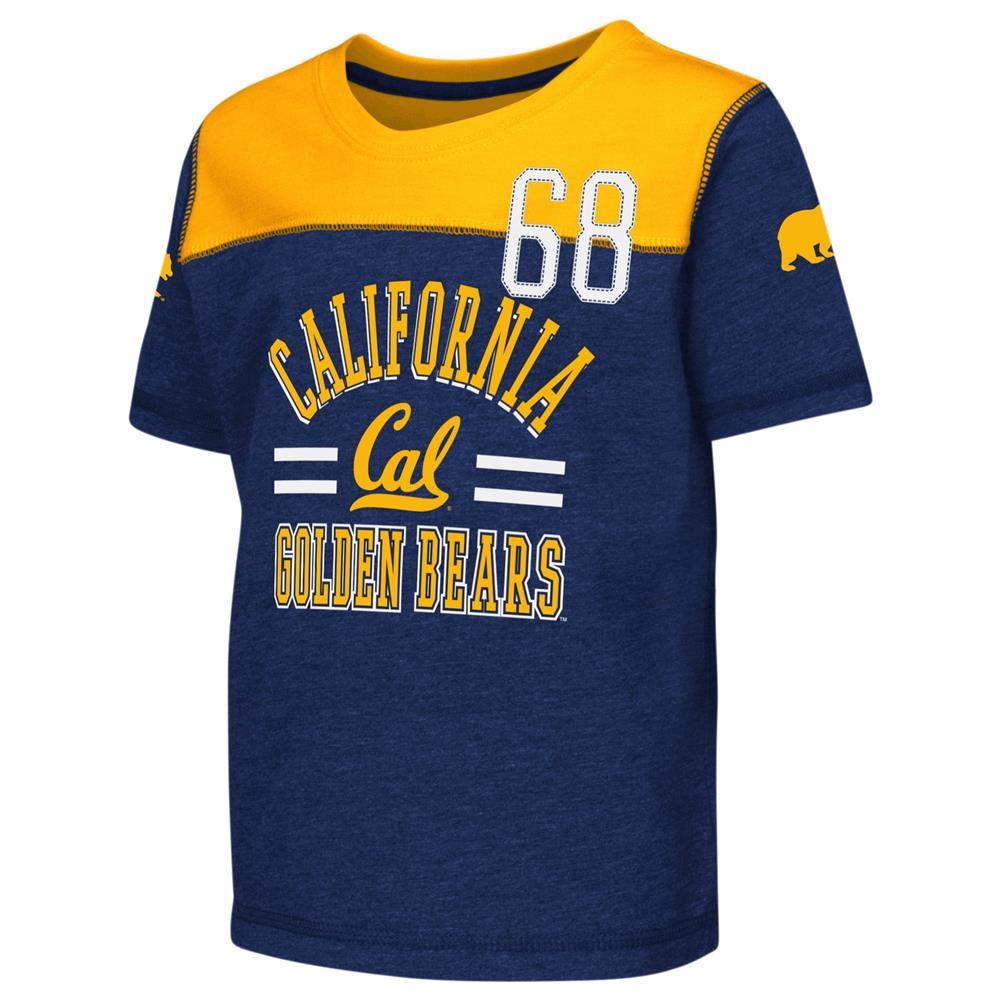 Cal Berkeley Golden Bears Toddler T-Shirt Short Sleeve Boy's Tee