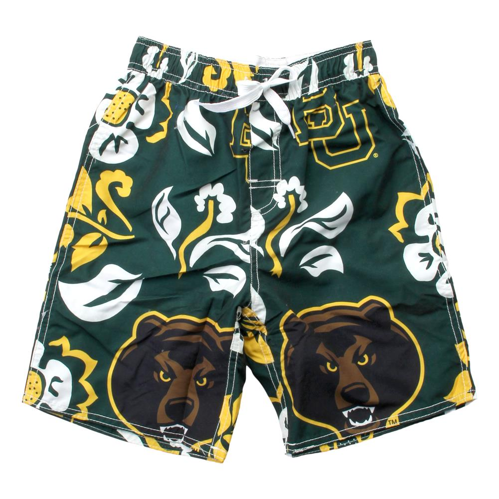 Wes and Willy Youth Arizona State University Swim Trunks Boys Floral Swim Shorts