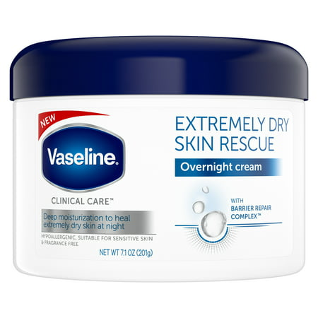 Vaseline Clinical Care Body Cream Extremely Dry Skin Rescue 7.1 (Best Lotion For Extremely Dry Skin)