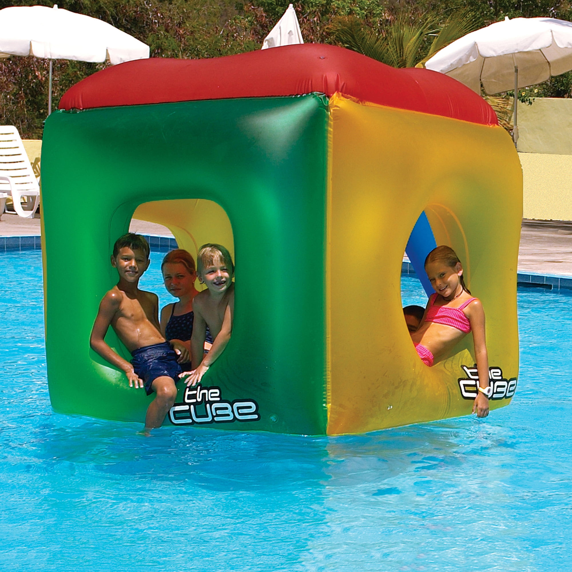 Swimline The Cube Inflatable Pool Toy by Blue Wave