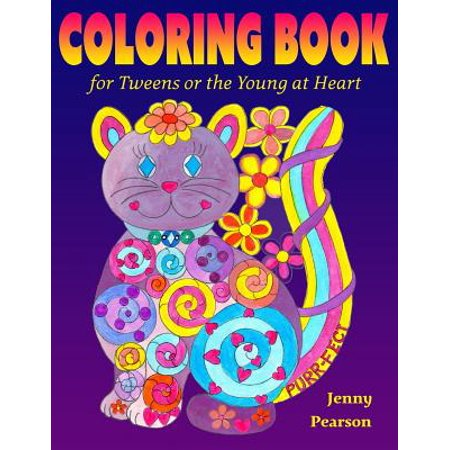 Coloring Book for Tweens or the Young at Heart - Movies For Tweens