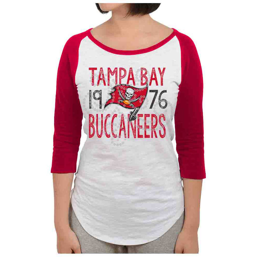 NFL Tampa Bay Buccaneers Juniors Long Sleeve Graphic Tee