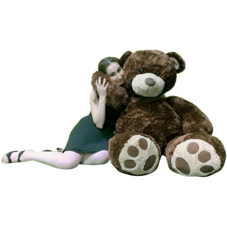 - Big Plush Valentine's Day 5 Foot Brown Giant Teddy Bear, Soft Life Size Hug Buddy, Perfect Gift for Valentines Day or Any Day