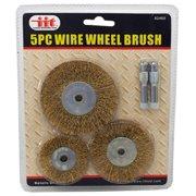 """Illinois Industrial Tool 5-pc. Wire Wheel Brush"""
