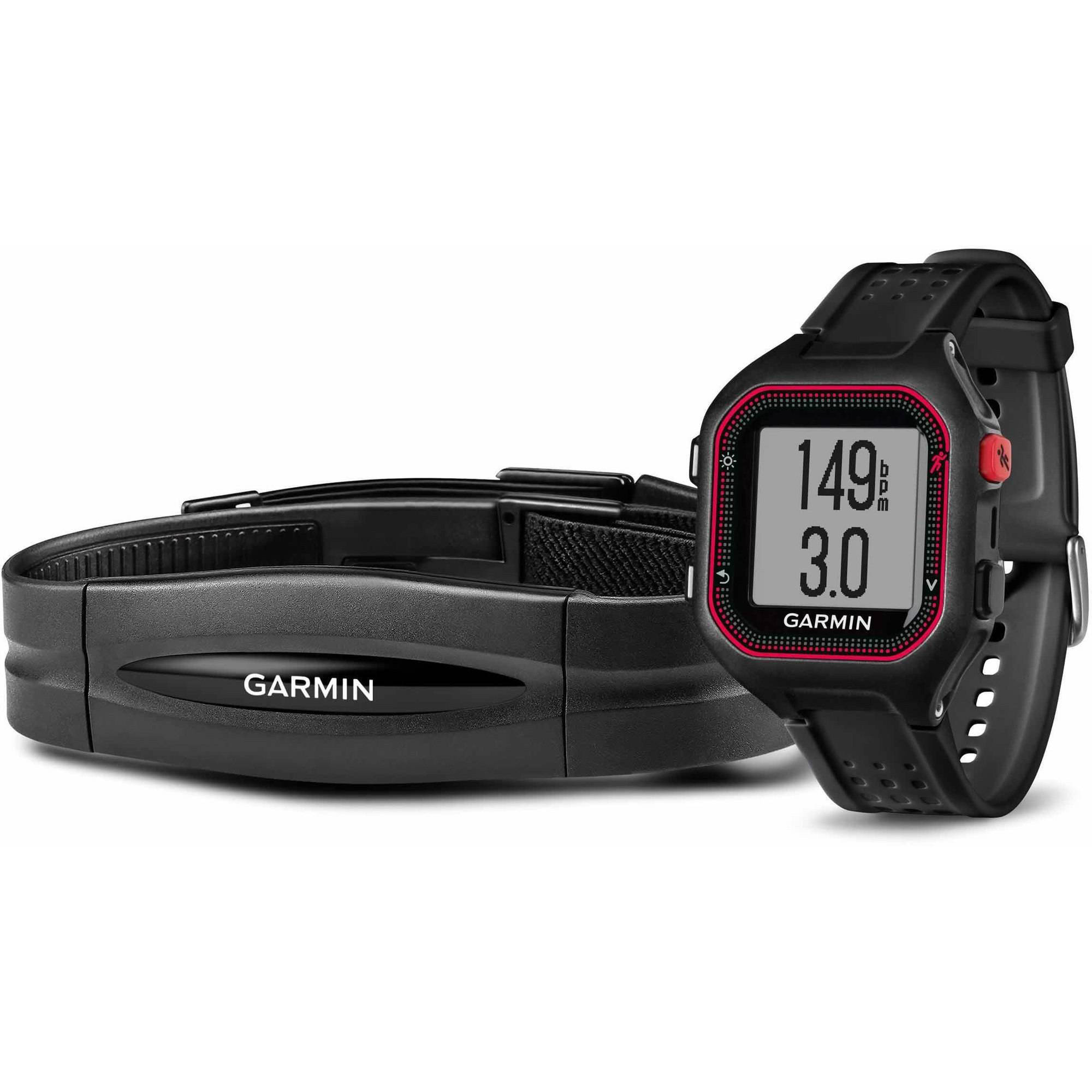 Garmin Forerunner 25 Bundle with Heart Rate Monitor