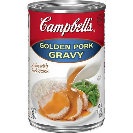 (3 Pack) Campbell's Gravy, Golden Pork, 10.5 oz. (Best Gravy For Pork)