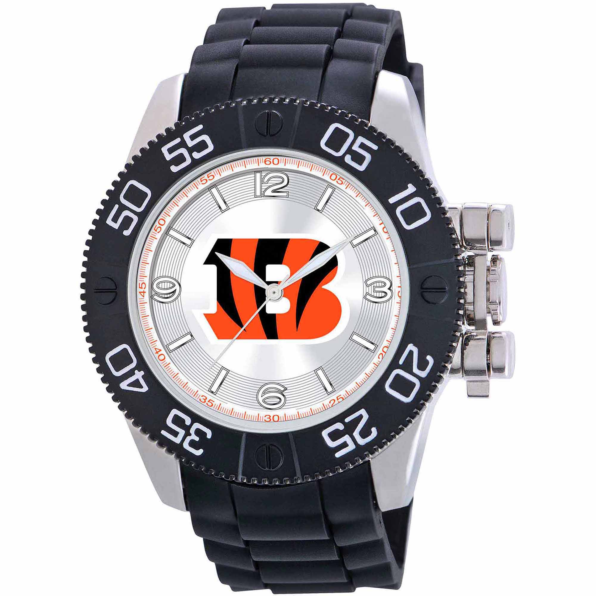 Game Time NFL Men's Cincinnati Bengals Beast Series Watch
