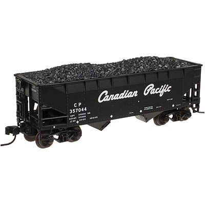 Atlas 50002169 N Canadian Pacific 2-Bay Offset-Side Hopper (Canadian Pacific Hopper)