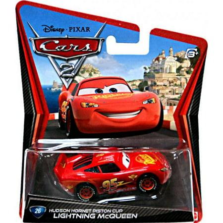 (Lightning McQueen with Hudson Hornet Piston Cup Diecast Car)