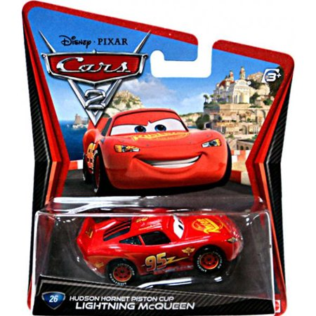 Lightning McQueen with Hudson Hornet Piston Cup Diecast Car
