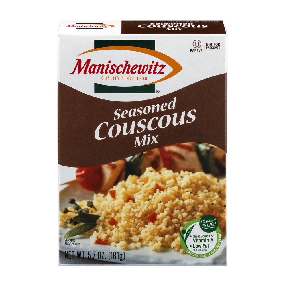 Manischewitz Couscous Mix Seasoned, 5.7 OZ