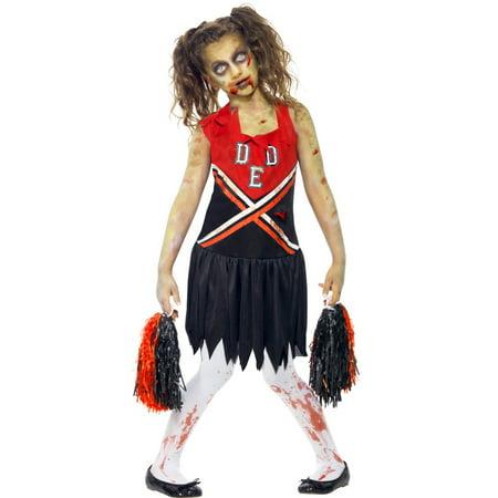 Zombie Cheerleader Child Costume - Medium