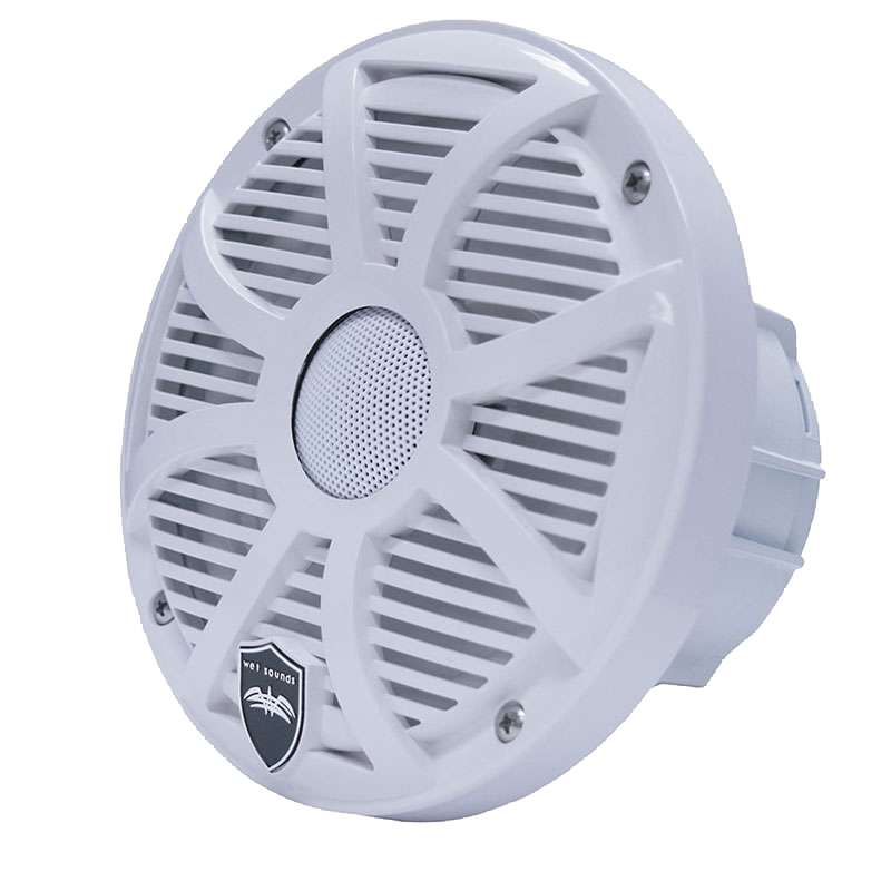 "Wet Sounds REVO 6-SWW 200W Peak (100W RMS) 6.5"" 2-Way Coaxial Marine Speakers"