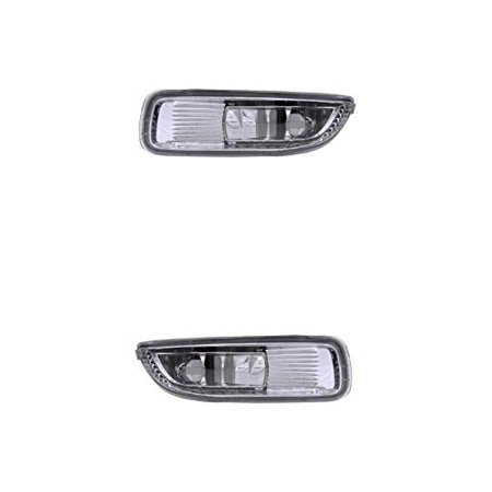 Fog Light - Eagle Eyes Fit/For 33501SNAA51, 33551SNAA51 03-04 Toyota Corolla Both Pair, Left Driver Right Passenger Hand ()