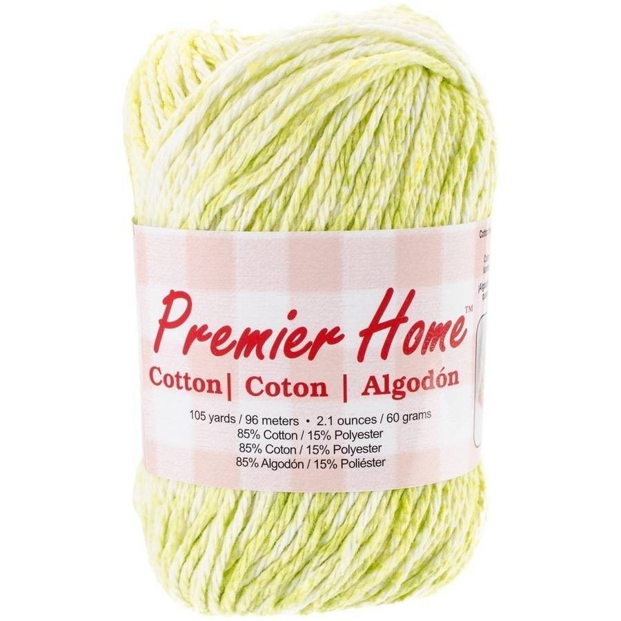 Home Cotton Yarn, Multicolored, Honeydew Splash