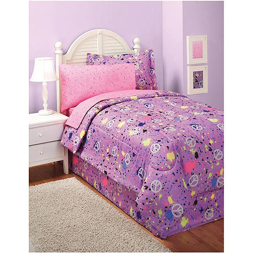 In Style Peace Bed in a Bag Bedding Set