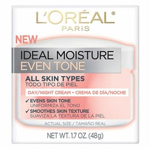 L'Oreal Ideal Moisture Ideal Moisture Even Tone Day Cream 1.7 oz (Pack of 3)
