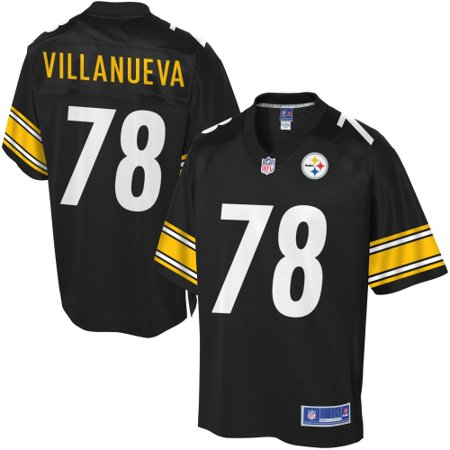 5b57122a626 Youth Pittsburgh Steelers Alejandro Villanueva NFL Pro Line Team Color  Jersey - Walmart.com