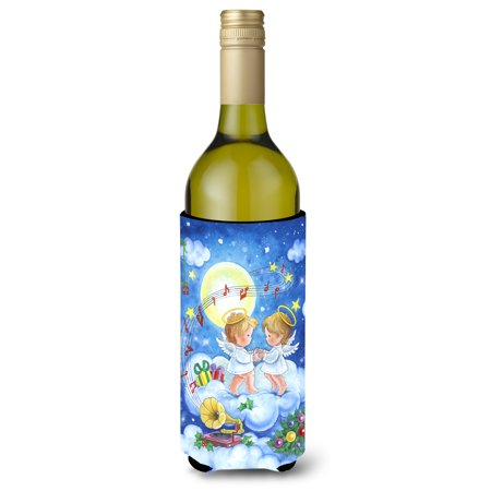 Angels Making Music Together Wine Bottle Beverage Insulator Hugger APH3790LITERK