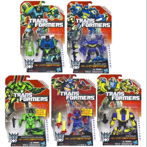 Transformers Fall of Cybertron Bruticus Set of 5 Action Figures