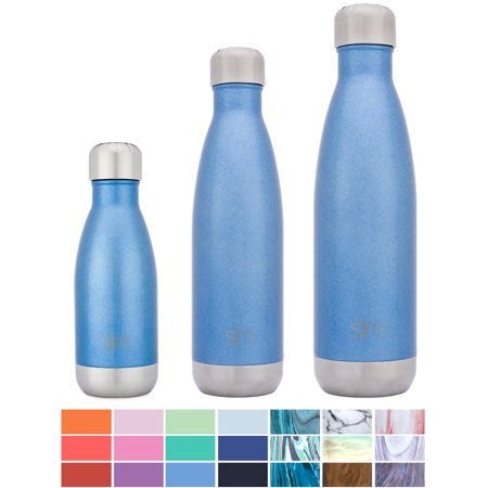 Simple Modern 25oz Wave Water Bottle - Vacuum Insulated Double Wall 18/8 Stainless Steel Hydro Swell Flask - -
