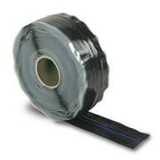 DEI Fire Tape 1in x 36ft Roll - Self Vulcanizing Tape - Black