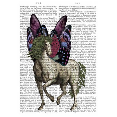 Horse with Butterfly Wings Poster Print by Fab Funky (13 x - Find 13 Horses