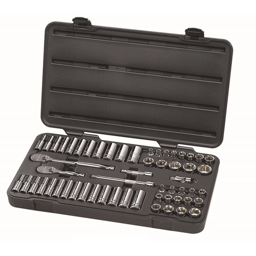 GearWrench 80550F 57-Piece 3/8 in. Drive 6-Point SAE/Metric Socket Set