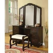 ACME Annapolis Vanity Mirror, Brown