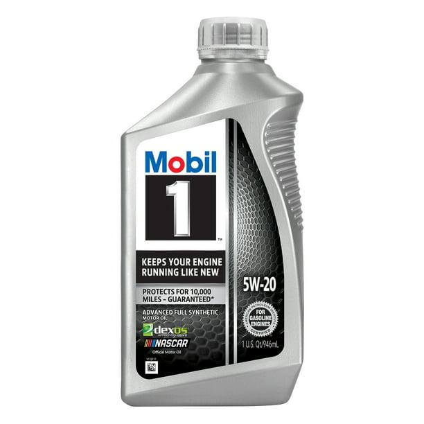 Mobil 1 Advanced Full Synthetic Motor Oil 5w 30 1 Quart Walmart Com Walmart Com