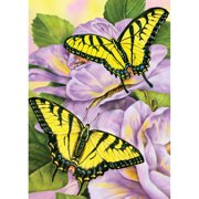 "Mini Paint By Number Kit 5""X7""-Swallowtail Butterflies"