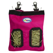 CuteNfuzzy Small Animal 1000D Nylon Hay Pouch Feeder for Guinea Pigs and Rabbits - Available in Multiple Colors - Small / Pink