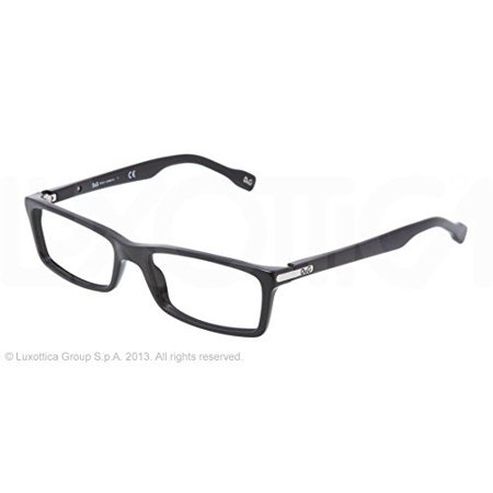 D&g Logo Plaque Dd1211 Eyeglasses 501 Black Demo Lens 50 16 135 (53 16 135)