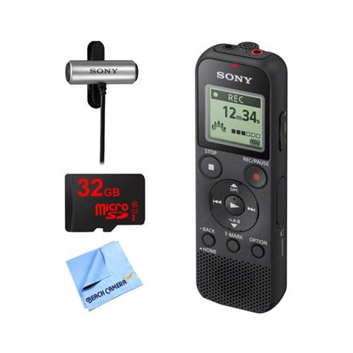 Sony PX370 Digital Voice Recorder w/ 32GB Bundle Includes...