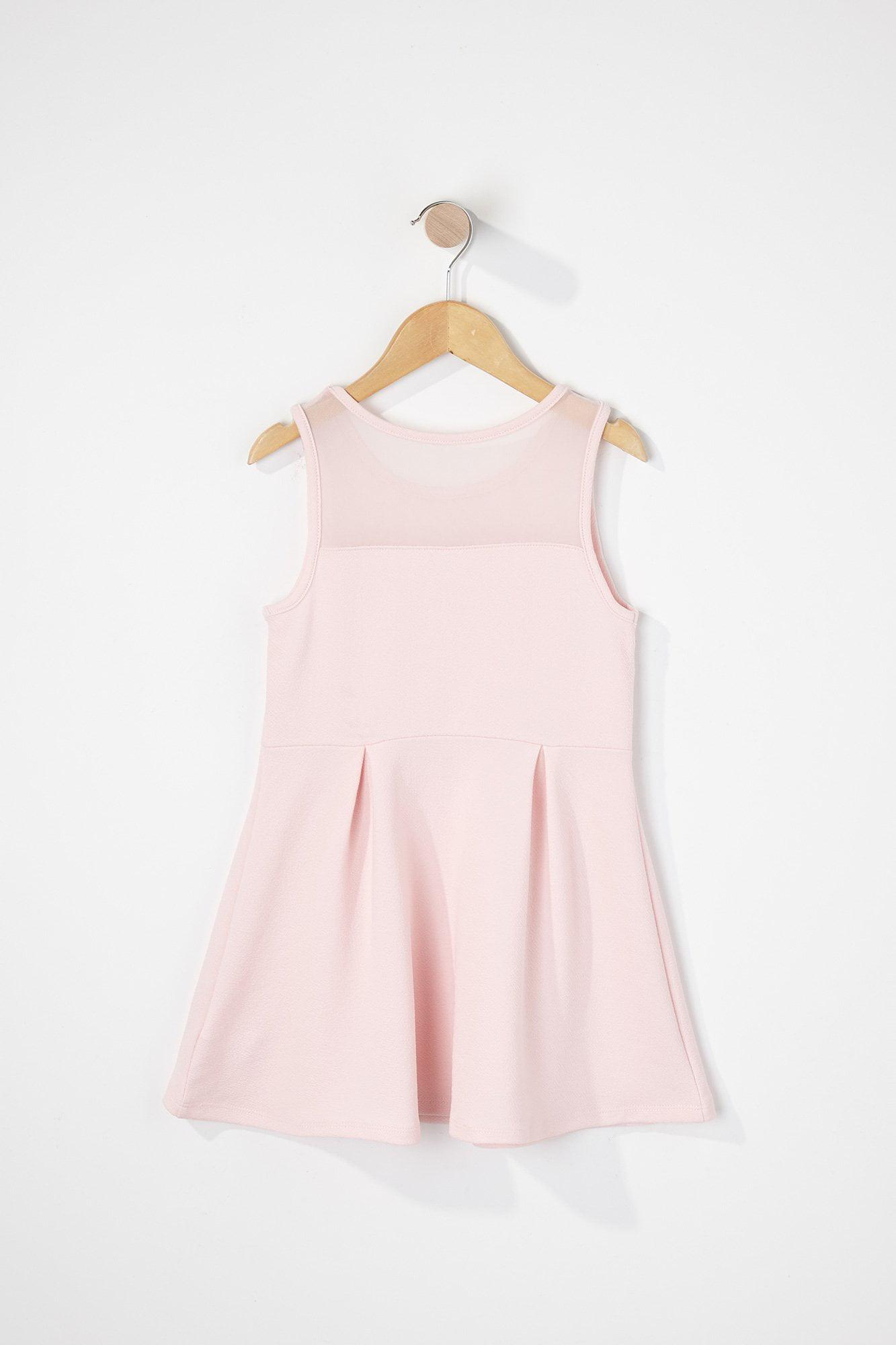 NEW Toddler Girls Sun Dress Size 2T Pink Yellow Stripe Fisher Price Summer