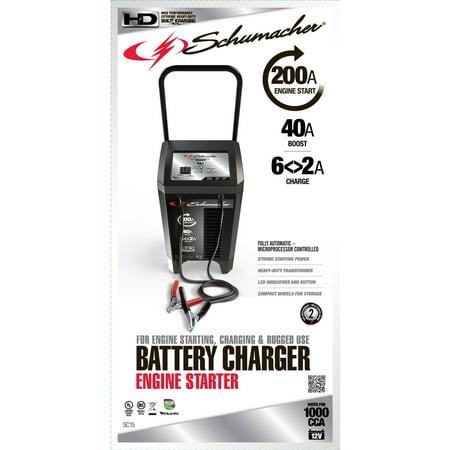 Schumacher Electric 200 Amp Engine Start Wheel Charger