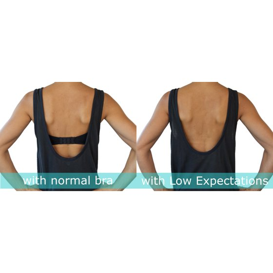 Fashion First Aid - Low Expectations  Low Back Bra Converter 8966e3ec3