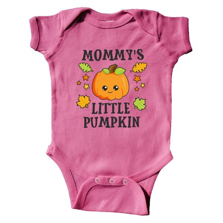 Mommys Little Pumpkin with Leaves and Stars Infant Creeper