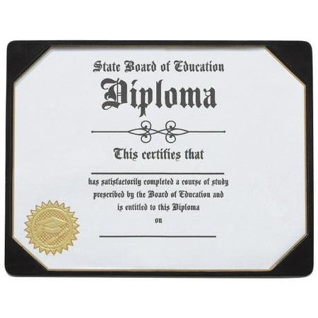 Graduation Diploma Layon Cake Topper and 1 Paper Diploma