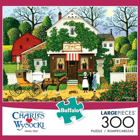 300-Piece Wysocki: Small Talk Puzzle - Wysocki Halloween Puzzles